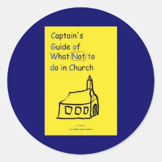 Captain's Guide Sticker