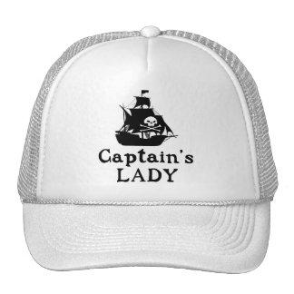 Captain's Lady Trucker Hat