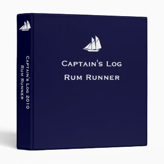 Captain's Log ~ Changeable Year Binder