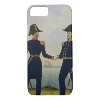 Captains, plate 5 from 'Costume of the Royal Navy iPhone 7 Case