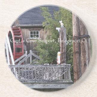 Captain's Waterwheel Office  002 Coaster