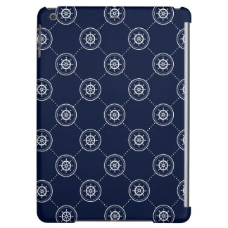 Captain'S Wheel Pattern Case For iPad Air
