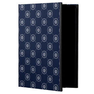 Captain'S Wheel Pattern iPad Air Cover