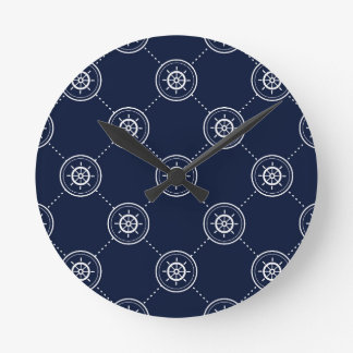 Captain'S Wheel Pattern Wall Clocks