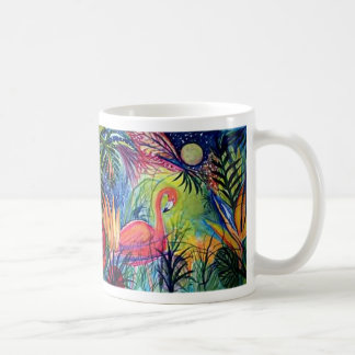 Captiva Island Flamingo Midnight Coffee Mug