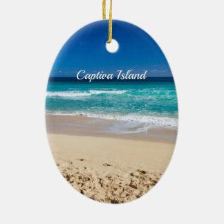 Captiva Island, Florida Ceramic Ornament