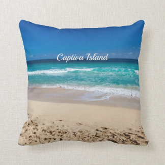 Captiva Island, Florida Throw Pillow