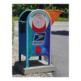 Captiva Island Mailbox- horizontal Letterhead