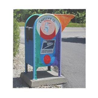 Captiva Island Mailbox- horizontal Notepad