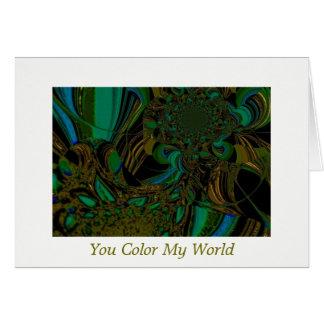 """Captivating Underwater Scene"" Card w/Envelope"