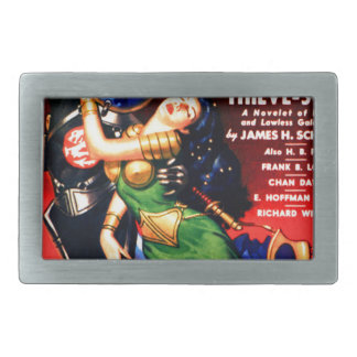 Captive of the Thieves Star Belt Buckle