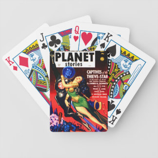 Captive of the Thieves Star Bicycle Playing Cards