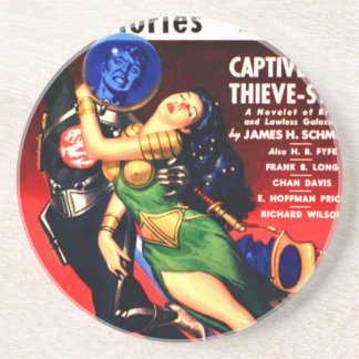 Captive of the Thieves Star Coaster