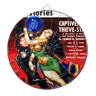 Captive of the Thieves Star Dartboard