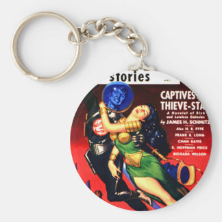 Captive of the Thieves Star Keychain