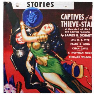 Captive of the Thieves Star Napkin