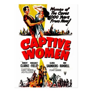 Captive Women Postcard