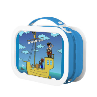 Capt'n of the seas blue yubo lunch box by DAL