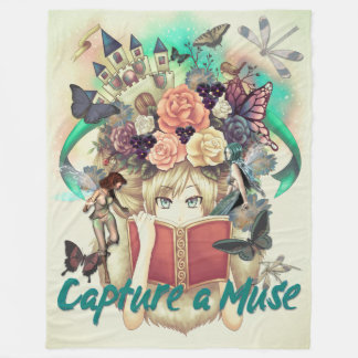 Capture a Muse Fleece Blanket