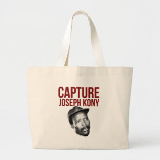 Capture Kony - T-Shirts, Cases, Hats and Buttons Large Tote Bag
