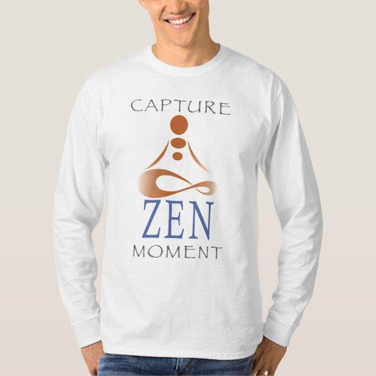 Capture Zen Moment Men's Long Sleeve Shirt