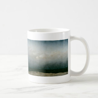 Capuchin Friar By The Sea - Caspar David Friedrich Coffee Mug