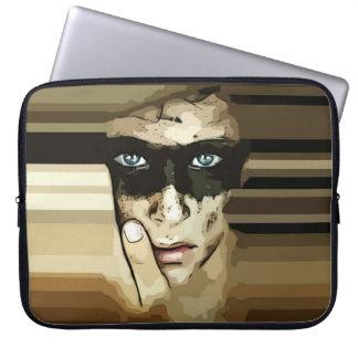 Capuchino man in brown Laptop Sleeve