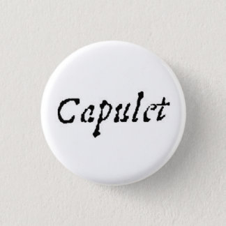 Capulet 1 Inch Round Button