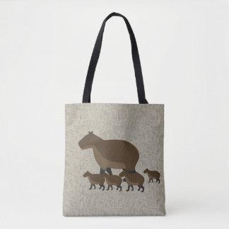 Capybara Allover Tote Bag