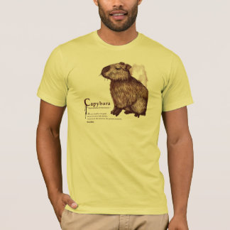 capybara - chocolate T-Shirt