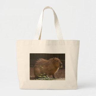 Capybara Large Tote Bag