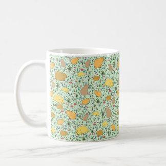 Capybara Mug, Green Coffee Mug