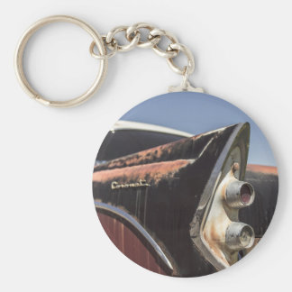 car24 basic round button keychain