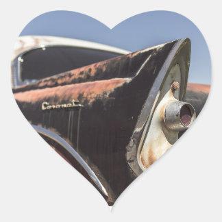 car24 heart sticker