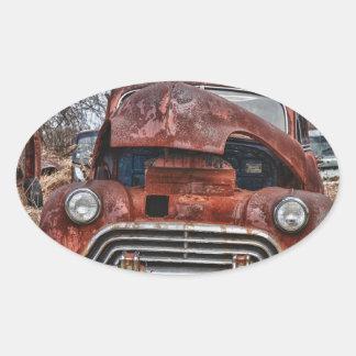 car39 oval sticker