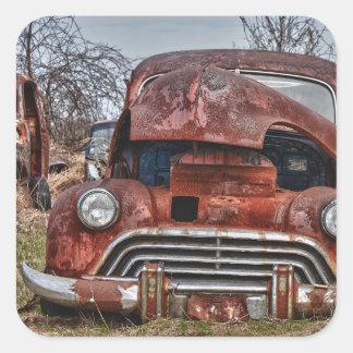 car39 square sticker