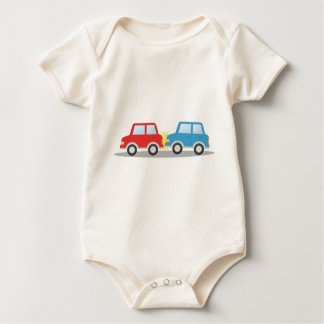 Car Accident Baby Bodysuit
