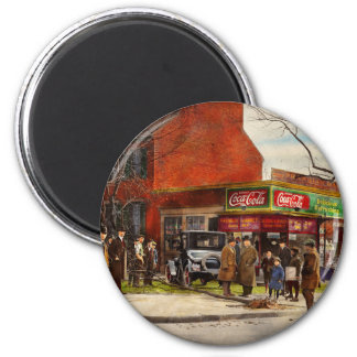 Car - Accident - Looking out for number one 1921 2 Inch Round Magnet