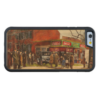 Car - Accident - Looking out for number one 1921 Carved Maple iPhone 6 Bumper Case