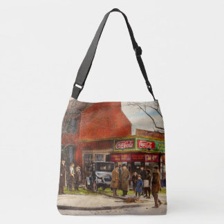 Car - Accident - Looking out for number one 1921 Crossbody Bag