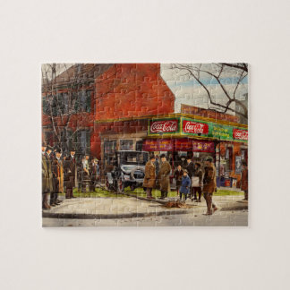 Car - Accident - Looking out for number one 1921 Jigsaw Puzzle