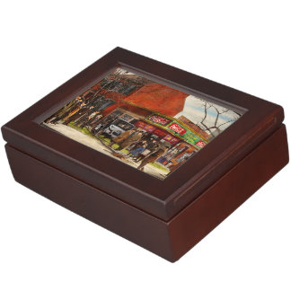 Car - Accident - Looking out for number one 1921 Keepsake Box
