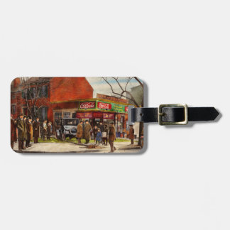 Car - Accident - Looking out for number one 1921 Luggage Tag