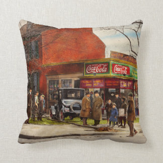 Car - Accident - Looking out for number one 1921 Throw Pillow