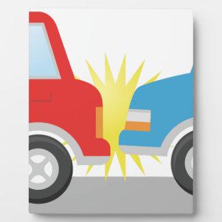 Car Accident Plaque