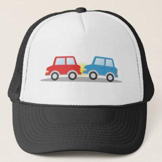 Car Accident Trucker Hat