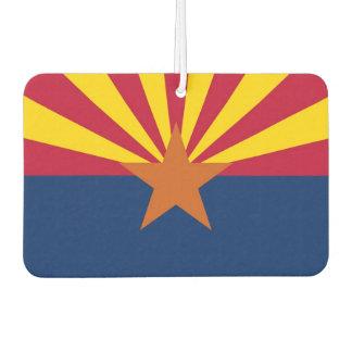 Car Air Fresheners with Flag of Arizona, USA