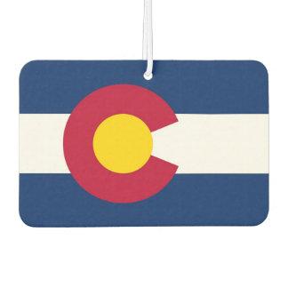 Car Air Fresheners with Flag of Colorado, USA