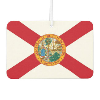Car Air Fresheners with Flag of Florida, USA