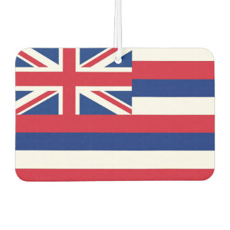 Car Air Fresheners with Flag of Hawaii, USA